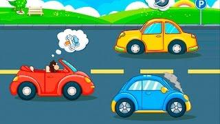 Мультфильмы для детей Автосервис и безопасность на дороге.  Мультики про машинки все серии