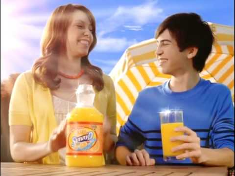 Sunny Delight Commercial for SunnyD (2008 - 2009) (Television Commercial)