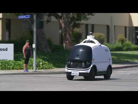 無人自動配送車「Nuro」の走行映像を公開。TOYOTA(Woven Capital)が出資した自動配送車がこれ