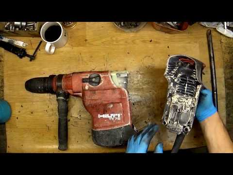 Hilti TE76 disassemble and diagnostic. Repair cost about 160 Euros!
