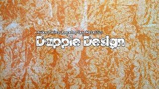 🎨 Asian Paints Royale Play Metallics Dapple Wall Design || Interior Design 🎨