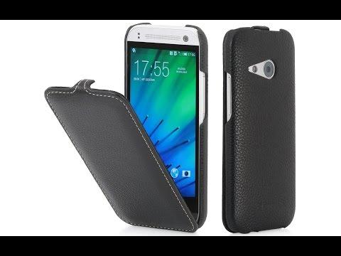 """Handyhülle für HTC One mini 2 """"UltraSlim"""" aus Leder von StilGut"""