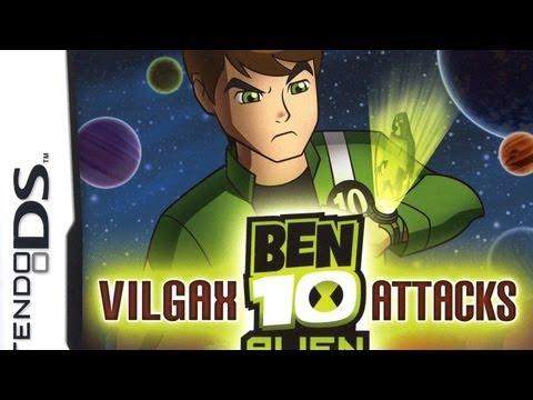ben 10 alien force vilgax attacks cheat codes nintendo ds