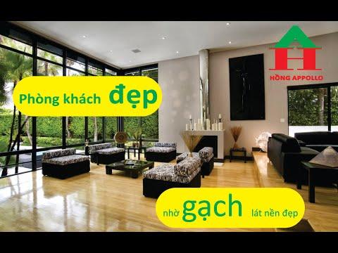 Các mẫu gạch lát nền phòng khách, gạch giá rẻ