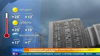 Московская погода готовит всем метеочувствительным готовит новое испытание