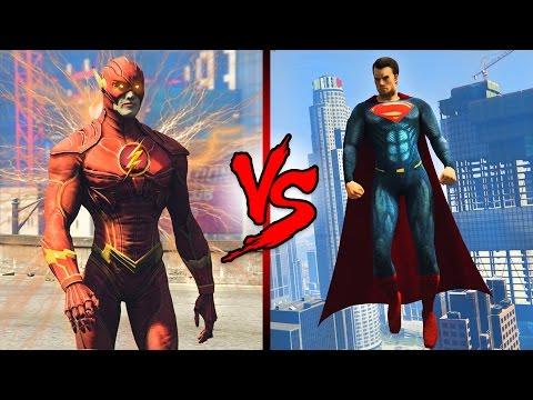 THE FLASH vs SUPERMAN!