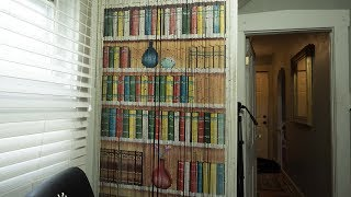 A Beaded Curtain - Cool Door Decor