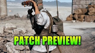 TTD Fix, Company Coin Fix & More! - Battlefield 5 Patch Preview
