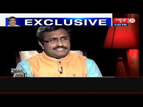 No question of removing Sadhvi Niranjan Jyoti: Ram Madhav