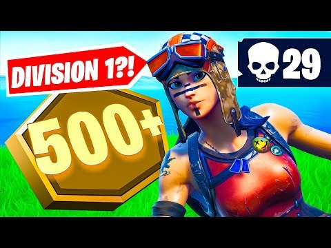 Pro player plays Division 1 in Fortnite    (29 elims!)