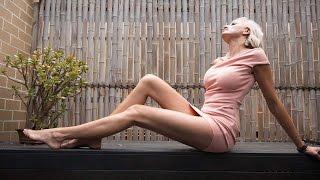 אמא-ארוכת-רגליים: הדוגמנית לשעבר הזו היא האישה עם הרגליים הארוכות בעולם >>