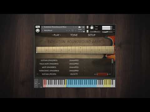 Video for Evolution Roundwound Bass - Factory Preset Walkthrough