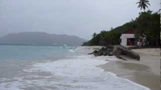 preview picture of video 'Cinnamon Bay Beach St. John USVI'