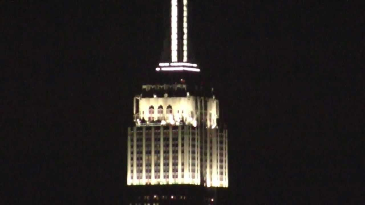 Watch The Empire State Building Give Its First-Ever Light Show