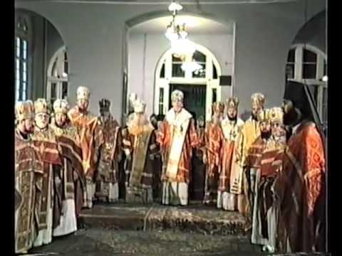 Литургия в ЛДА митр. Антония (Мельникова) 1984 г.