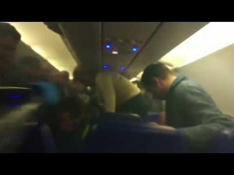 Пожар на борту самолета Москва - Волгоград