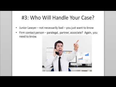 5 Important Questions to Ask a Personal Injury Lawyer Before Hiring