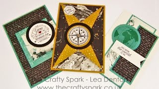 3 Super Simple Speedy Cards #7 Masculine Cards With The Going Places Suite Stampin Up! UK