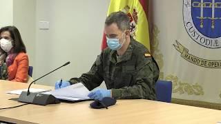 Reunión de S.M. el Rey en el Mando de Operaciones