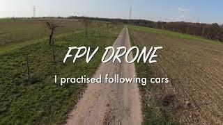 Cinematic FPV / DJI FPV DRONE / following cars