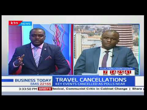 Travel Cancellations: Key events cancelled as polls near