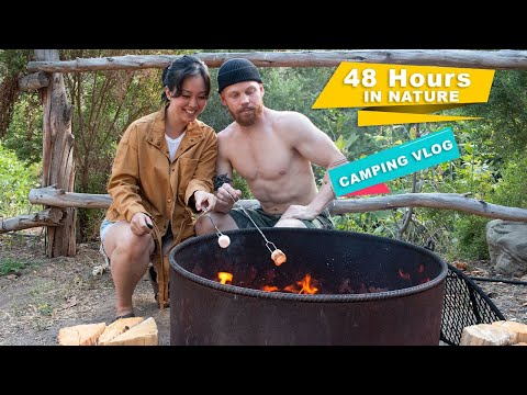 City Couple 48 hours in Nature ● Camping Vlog | Serein Wu