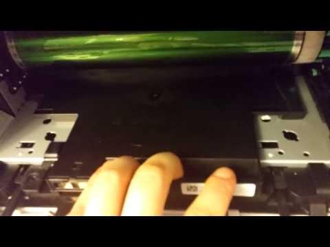 Samsung C460 - Removing Toner, Wast Toner and Imaging Unit