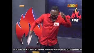 Countryman Songo dances to Kuame Eugene's latest song (17-4-19)