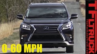 2017 Lexus GX 460 0-60 MPH Review: Truck Based SUV with a Split Personality