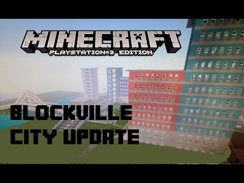 Blockville The Biggest City On Minecraft Update 1 2 W/ Download [Ps3