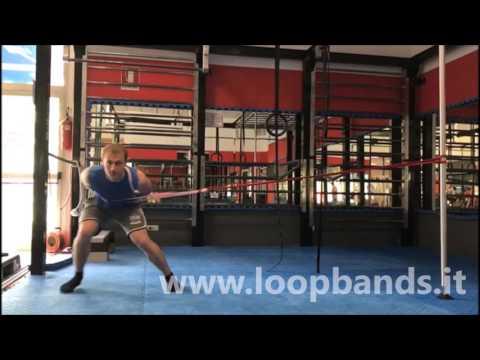 Preparazione Fisica video esercizi con elastico