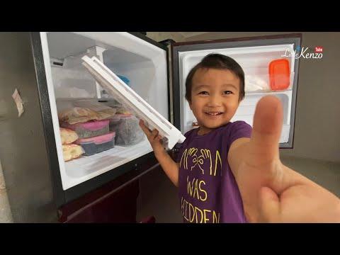 Drama Anak Pintar bikin Ice Cream | Little Kenzo makan dan berkreasi dengan Es Krim Susu