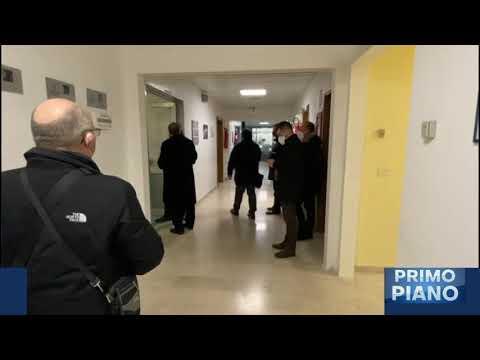 Covid, inaugurati al 3° lotto del Mazzini