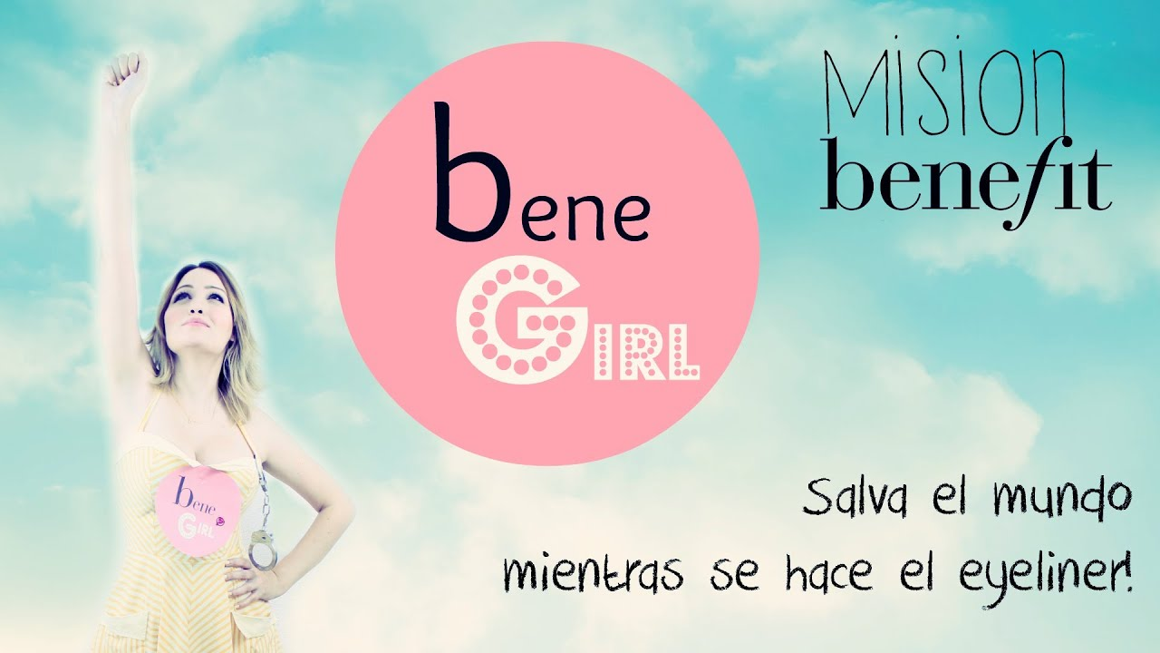 Mision Benefit Push Up Liner: Bene Girl y el malvado RemoverBoy! Superheroe y villano de la belleza!