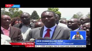 Leaders storm Moi university over VC appointment, KTN Prime 9/20/2016