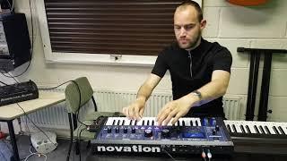 DJ Kez Jamming on the Novation Mini Nova