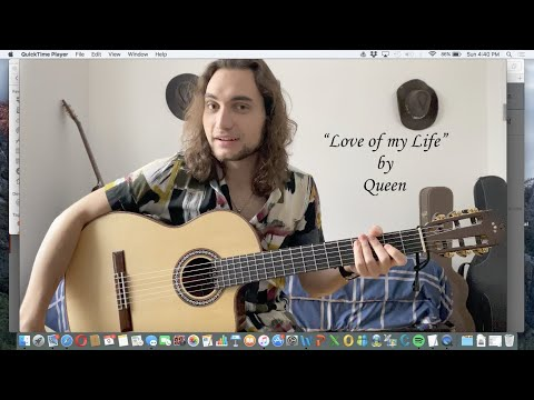 """Love of my Life"" - Queen (Classical Guitar)"