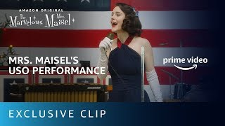The Marvelous Mrs. Maisel | USO Standup Performance | Prime Video