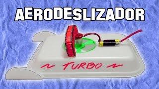 Cómo Hacer Un Aerodeslizador Con Una Bandeja De Corcho - Experimentos Caseros - LlegaExperimentos