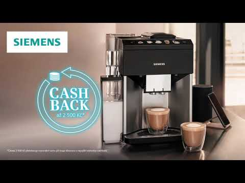 Volně stojící kávovar Siemens TI9553X1RW