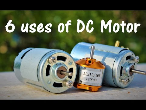 6 useful things from DC motor – DIY Electronic Hobby