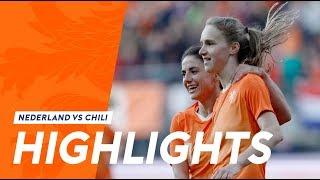Highlights: OranjeLeeuwinnen - Chili (9/4/2019)