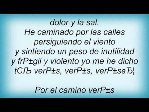 Laura Pausini - Por El Camino Lyrics