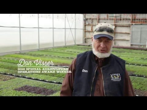 Eye on Agriculture Series: Visser Greenhouses Recognized for Special Operations