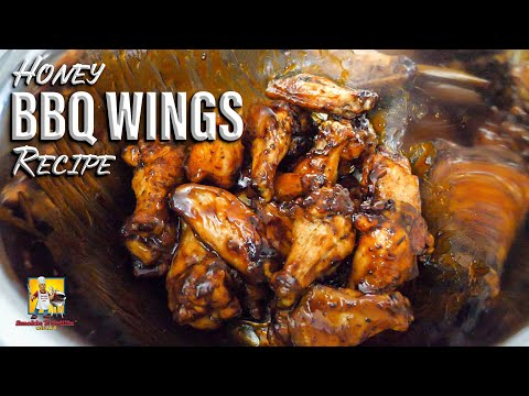 Easy Honey BBQ Wings Recipe | Appetizers with AB
