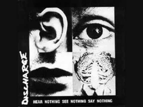 Discharge-Protest And Survive online metal music video by DISCHARGE