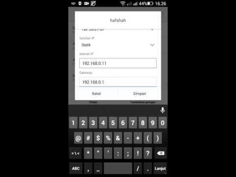 Video cara memperbaiki jaringan wifi di android yang tidak bisa terkoneksi dengan internet