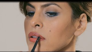 Tutorial: Eva Mendes Cat Eye & Bold Lip