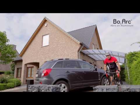 Auvent de terrasse en aluminium - BOzARC
