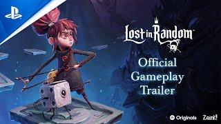 PlayStation Lost in Random – Official Gameplay Trailer   PS5, PS4 anuncio